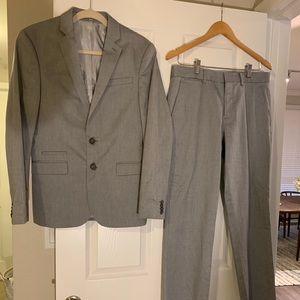 Express Light Gray Suit